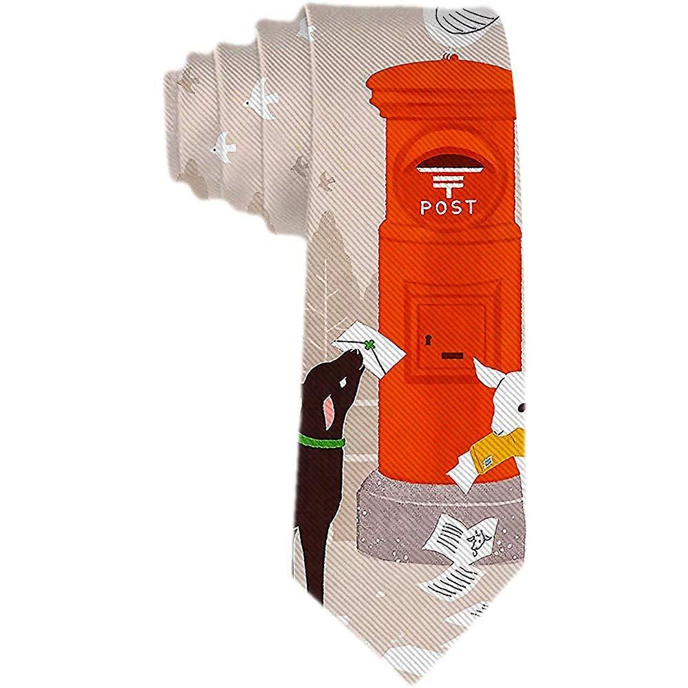 Corbata para hombre S Cabra negra Cabra blanca Cartas de sujeción ...