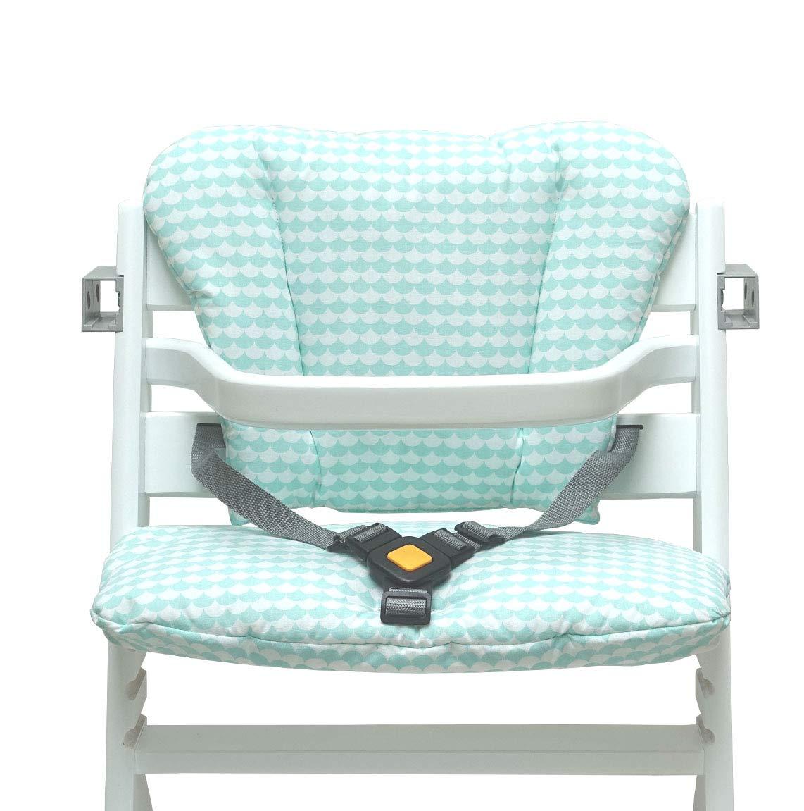 Blausberg Baby Schuppe Gr/ün Safety 1st Timba Sitzkissen Set