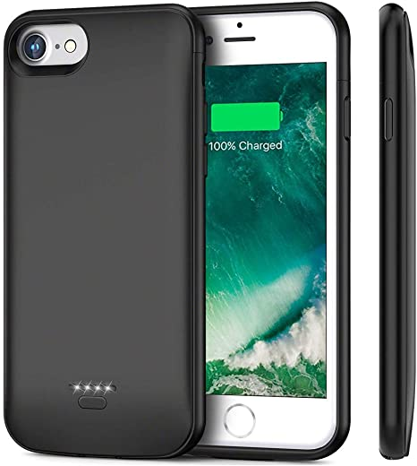Battery Case For iPhone 7 iPhone 8 Yicente 4000mAh: Amazon