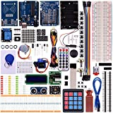 Kuman Mega 2560 Ultimate Starter Kit for Arduino Beginners, Arduino Rfid kit with Uno R3, LCD1602, Servo, Stepper Motor for Arduino Mega2560 UNO Nano K25