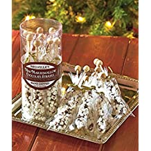 Gourmet Mini Marshmallow Chocolate Stirrers Hand Poured for Tea Coffee Hot Chocolate