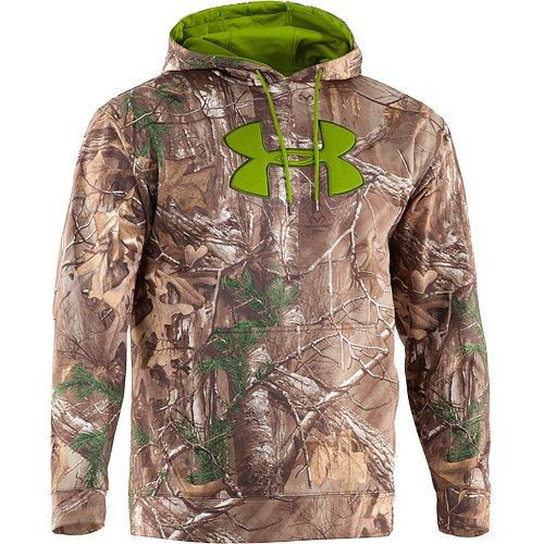 Under Armour Coldgear Scent Control Hoody - Men's Realtree AP - Xtra / Velocity Large from Under Armour