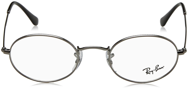 Ray-Ban Rayban Unisex-Erwachsene Brillengestelle 0RX 3547V 2502 48, Grau  (Gunmetal)  Amazon.de  Bekleidung dd732d14cc