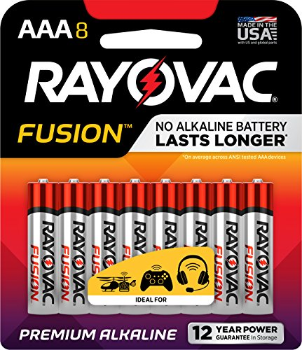 RAYOVAC Advanced Alkaline Batteries 824 8TFUSJ