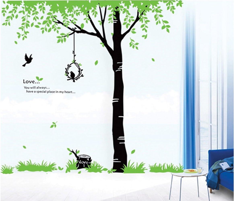 """Bird's Nest Wall Decals Home Art Decor Decal Vinyl Removable Tree Wall Sticker Mural Art Wallpaper - 60 x 90cm/23"""" x 35"""""""