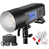 Godox AD400 Pro AD400Pro 400ws GN72 TTL Battery-Powered Monolight, 1/8000 HSS Outdoor Flash Strobe Light, Built-in Godox…