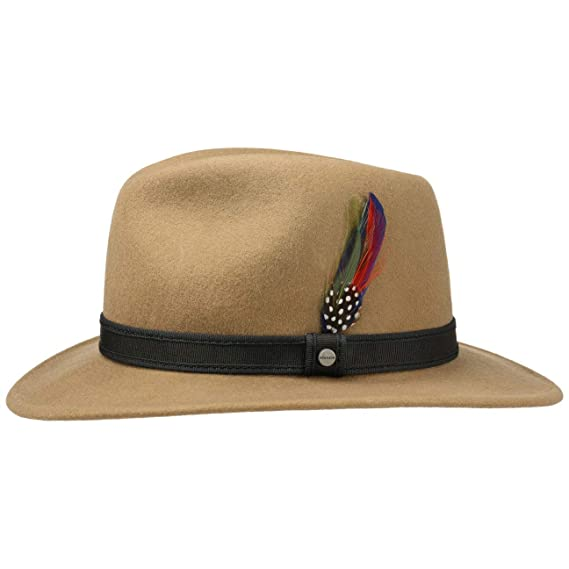 ff7a4eb39f6 Stetson Classic Traveller Wool Felt Hat Outdoor  Amazon.co.uk  Clothing