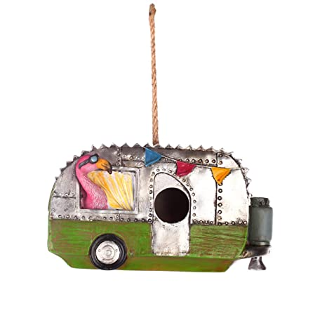 Yard, Garden & Outdoor Living Supply Vw Campervan Nesting Bird House A Wide Selection Of Colours And Designs