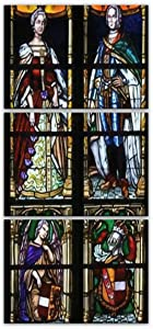 Wall Art Bruges Belgium August 18 2018 Stained Glass in the Basilica of the Poster Decorative Painting Canvas Wall Decor 15