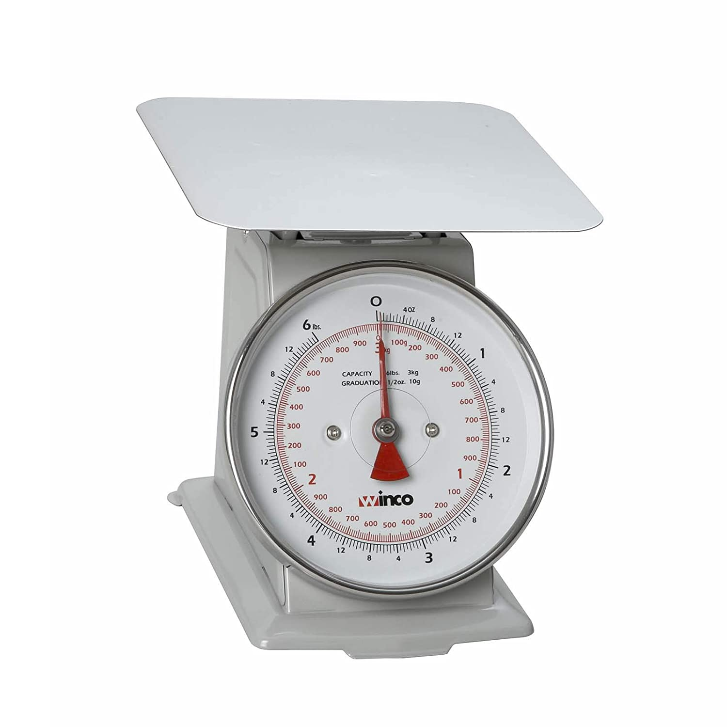 Winco SCAL-66 6-Pound/3kg Scale with 6.5-Inch Dial Winco USA