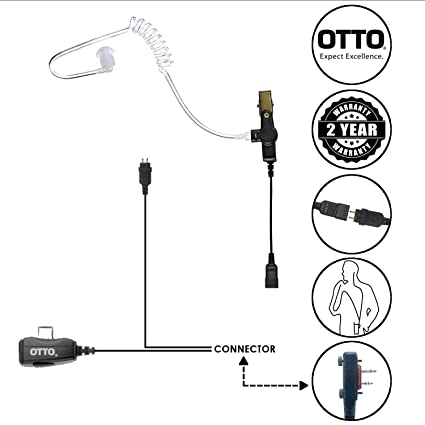 Amazon.com: OTTO LOC 2-Wire Surveillance Acoustic Tube ... on