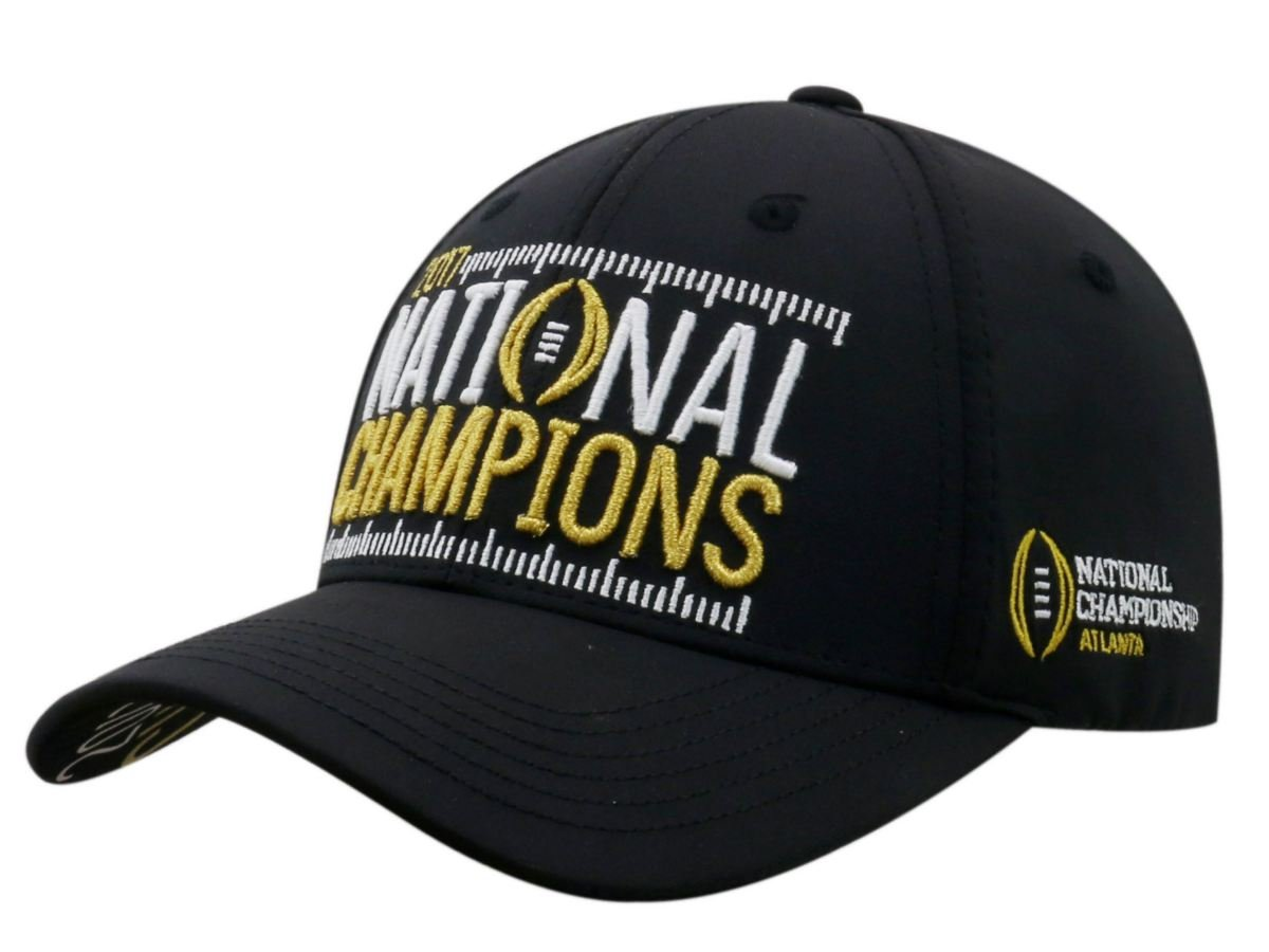 cdb284e2c Alabama Crimson Tide 2017-2018 National Champions Phenom Structured Adj Hat  Cap