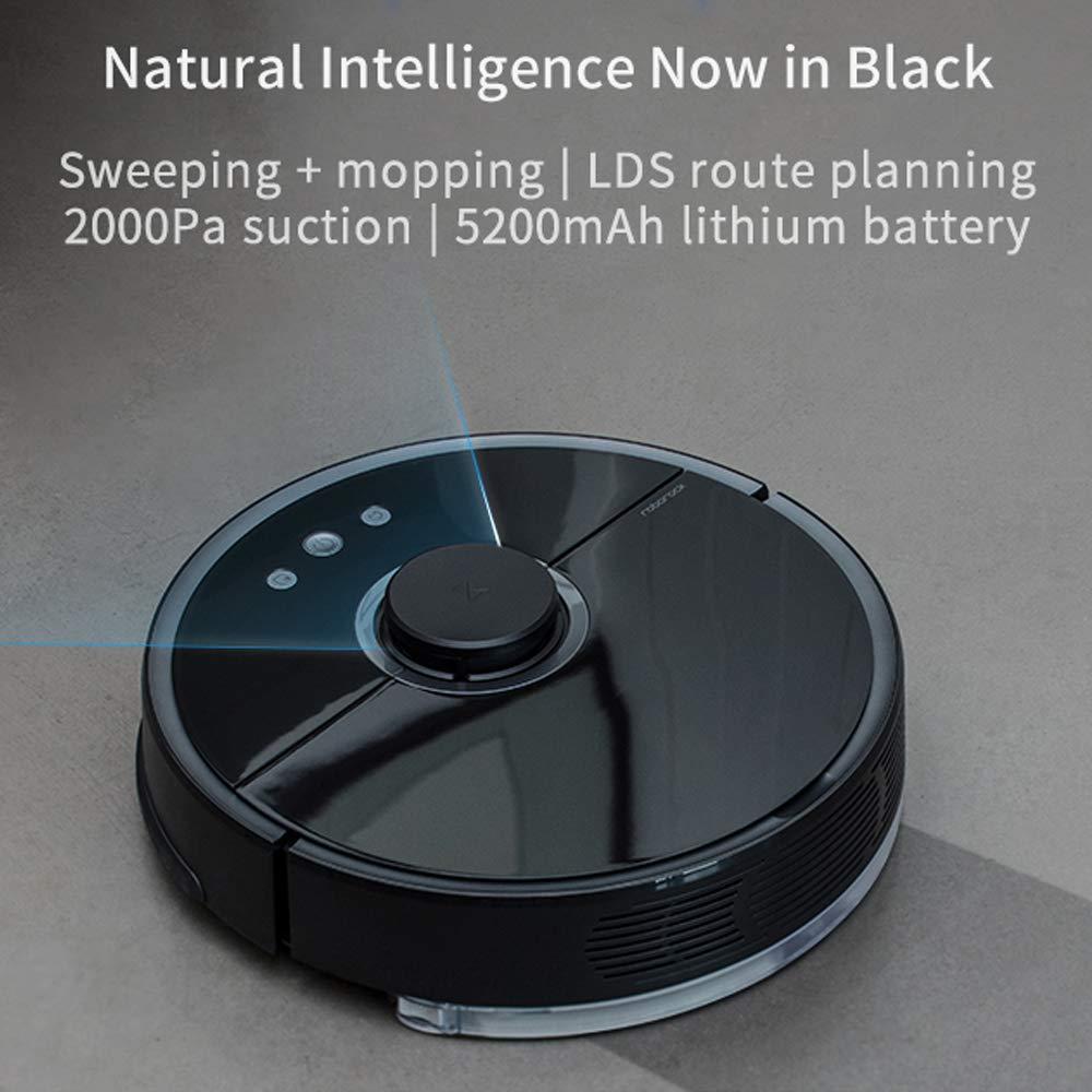 Aspiradora Smart Mi Robot, Aspiradora Roborock S55, Aspiradora Xiaomi 2 Generación EU (Integración de Barrido y fregado, Sensor LDS, Recarga automática, ...
