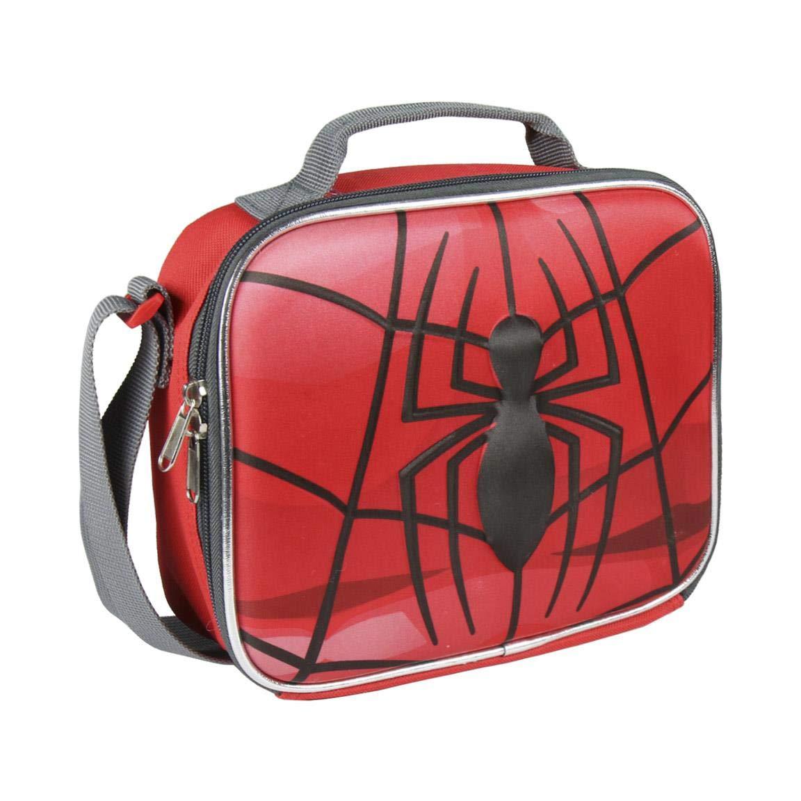 Cerdá 3d Spiderman Tote da viaggio, 23 cm, Rosso (rojo) 2100002129