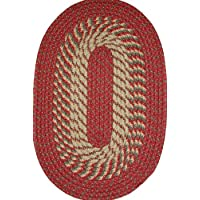 Plymouth 22 x 108 (Runner) Braided Rug in Barn Red