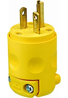 6-20P Plug - NEMA Straight Blade 20 Amp, 250V Power Cord Plug ...