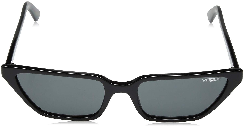 Amazon.com: Vogue Mujer anteojos de sol acetato, negro: Shoes