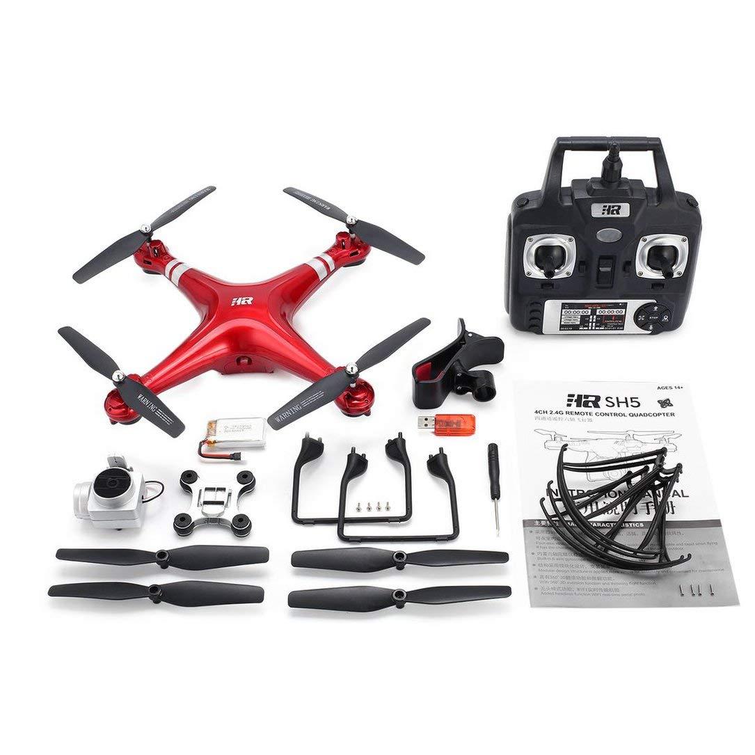SH5H 2.4G FPV Drone RC Quadcopter mit 1080P Weitwinkel WiFi HD-Kamera Live Video Altitude Halten Headless Modus One Key Return