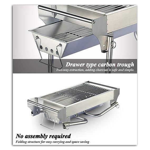 Xing Hua home Mini Grill Charcoal BBQ Multi-Function Grill ...