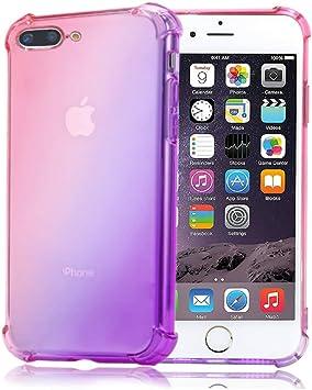 Funda Silicona iPhone 7 Plus / 8 Plus Transparente Ultrafina