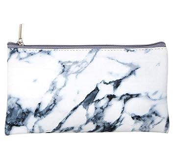 Amazon.com: Yeefant Bolsas de maquillaje de mármol, 1 pieza ...