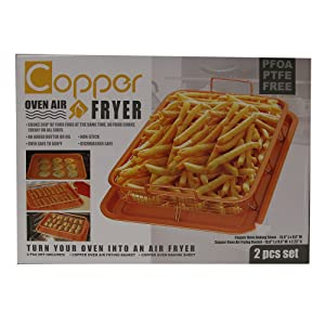 Copper Oven Air Fryer - Turn your Oven Into An Air Fryer