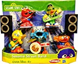 Playskool Exclusive Playset Sesame Street Band Ernie, Bert, Elmo, Big Bird Cookie Monster