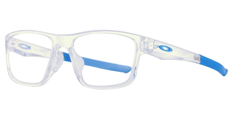 99ee698d24a Oakley Hyperlink OX8051-04 Eyeglasses Polished Clear 54mm  Amazon.co.uk   Clothing