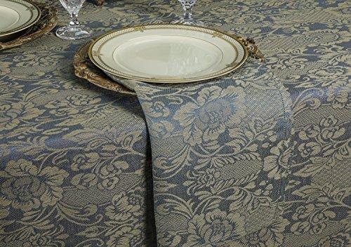 Tessitura Pardi Botticelli Navy Blue Rustica Linen Napkins (Set of 6) 20'' x 20'' by Tessitura Pardi