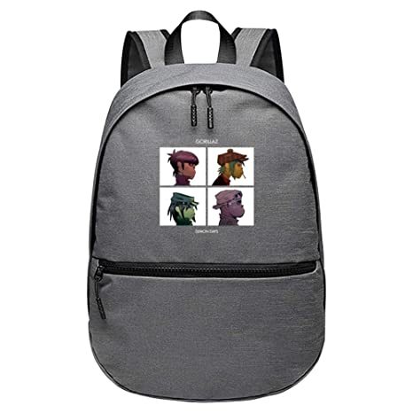 e5a35fff0018 Amazon.com: Unisex Demon Days Rucksack Backpack For School/Travel ...