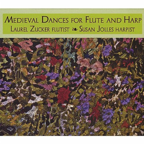 Medieval Dances for flute and harp ()