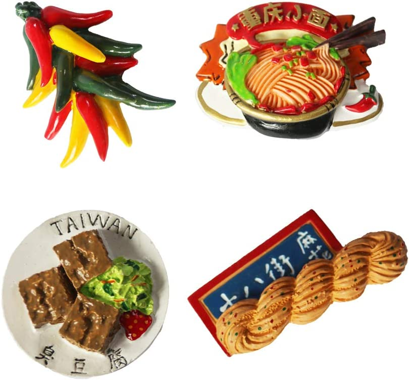 Refrigerator Magnets (Pink1) Mini cute food series decorated refrigerator magnet mixed style