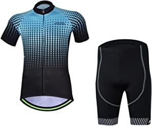bc62c2ada50 2017 Aogda Men s Cycling Jersey Short Sleeve Cycle Jacket Shirt Bicycle  Racing Wear Clothing Suit DC033