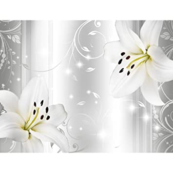 Fototapete Blumen Lilien 396 X 280 Cm   Vlies Wand Tapete Wohnzimmer  Schlafzimmer Büro Flur Dekoration