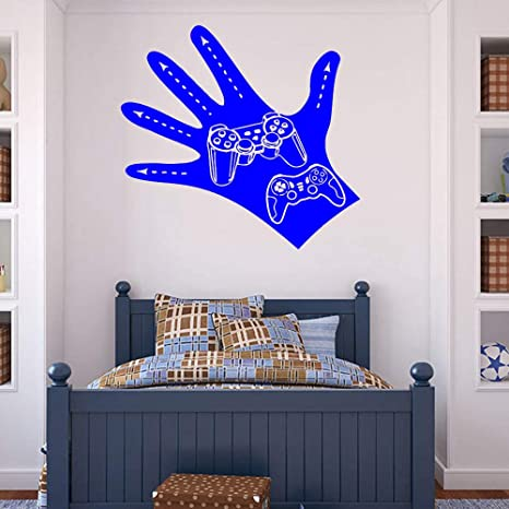 Decal Living Room Controller Gamer Vinyl Wall Sticker Gaming ...