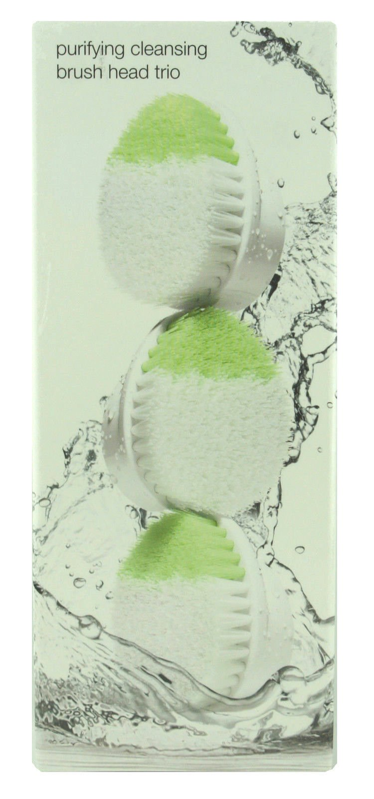 Clinique Purifying Cleansing Brush Head Refill Trio for Sonic System (3pc Set) ~ $90.00 Value by C