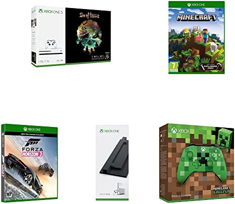 Xbox One S - Consola de 1 TB + Sea Of Thieves + Minecraft Explorer ...