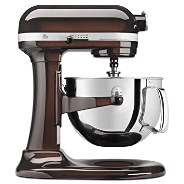 KitchenAid KP26M1XES 6 Qt. Professional 600 Series Bowl-Lift Stand Mixer - Espresso