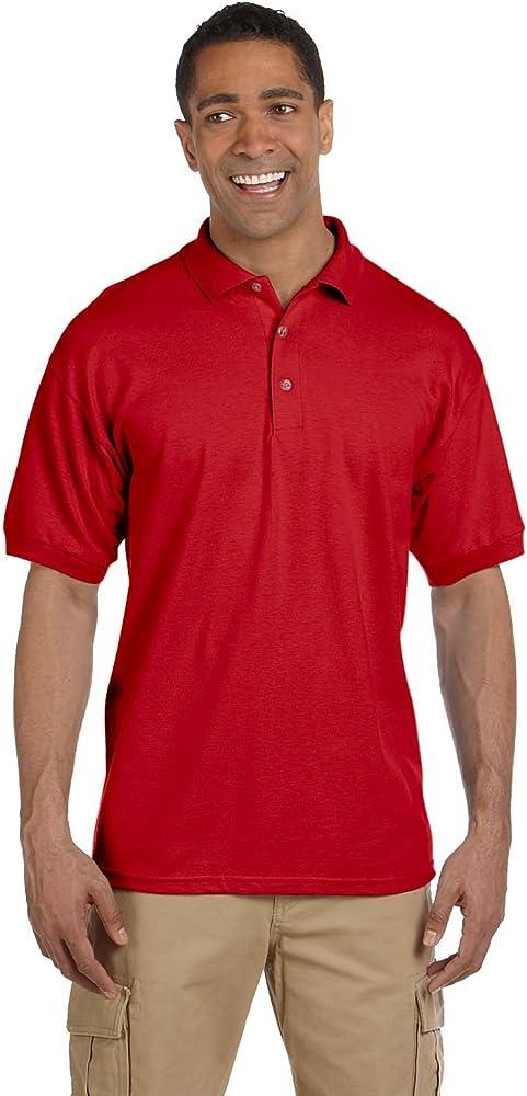 49722a33 Gildan Men's Ultra Cotton Piqué Polo at Amazon Men's Clothing store: