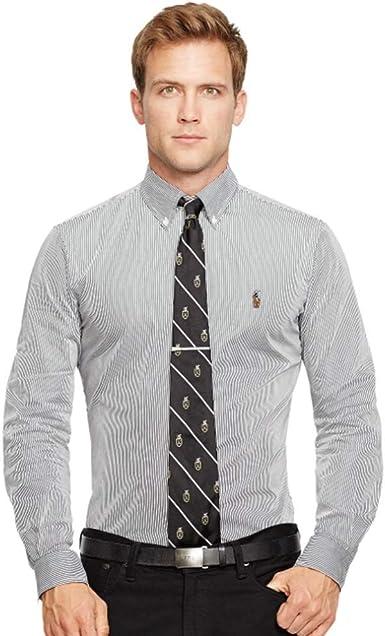 Ralph Lauren Camisa Classic Slim Fit: Amazon.es: Ropa y accesorios