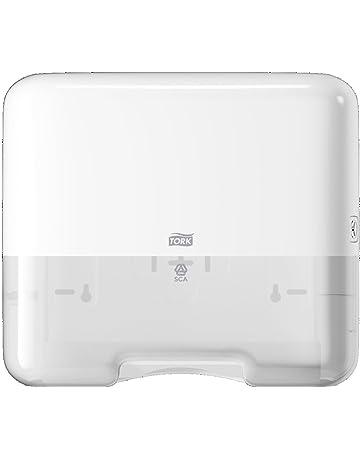 Tork 553100 - Dispensador mini de toallas de mano plegadas en C y ZZ, color