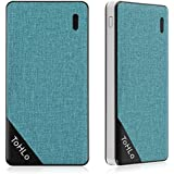 ToHLo 10000mAh Portable Power Bank Charger TYPE-C Input External Battery Pack - Blue