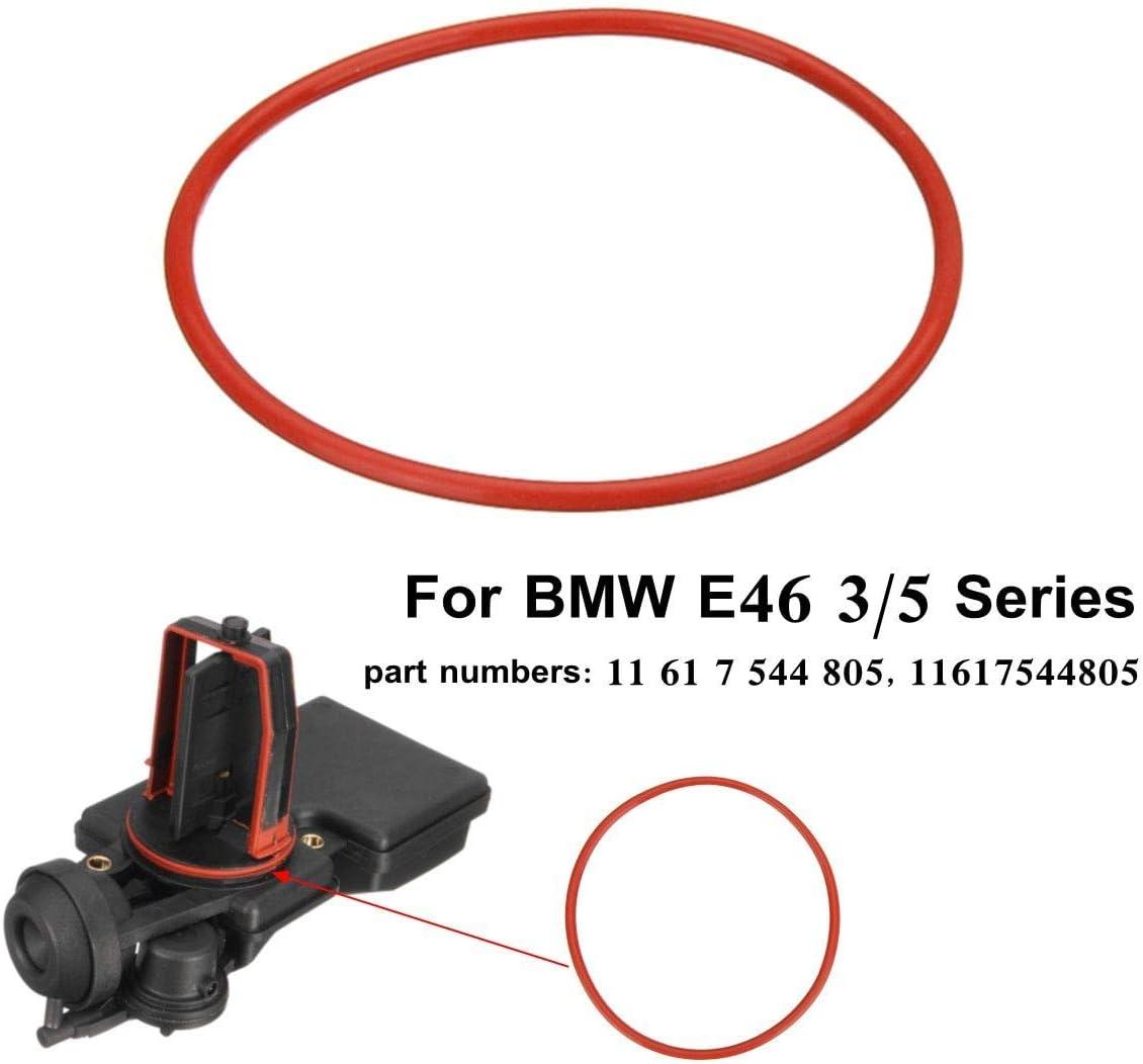 For BMW DISA E46 E60 E83 w//M54 Engines Intake Manifold Silicone Valve O-RING Red