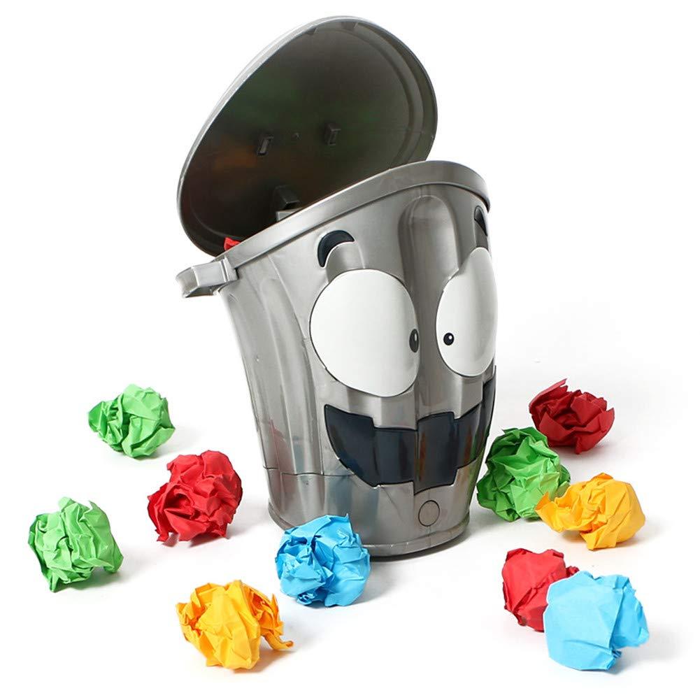 LanLan Karikatur-elektrisches verr/ücktes bewegliches Abfalleimer-Dekompressions-Spielzeug-konkurrenzf/ähiges Innenspielzeug