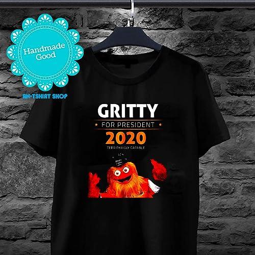eba525f304c Amazon.com: Gritty For President 2020 T Shirt for men women: Handmade