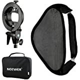 "Neewer® Photo Studio Multifonctionnel 24x24 ""/ 60x60cm Softbox avec S-type Flash Speedlite Mount Bracket et Étui pour Portrait ou Photographie de Produit"