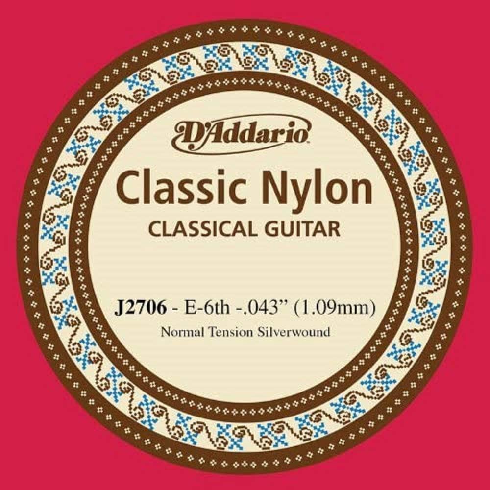 DAddario J2706 - Cuerda individual de nailon para guitarra ...