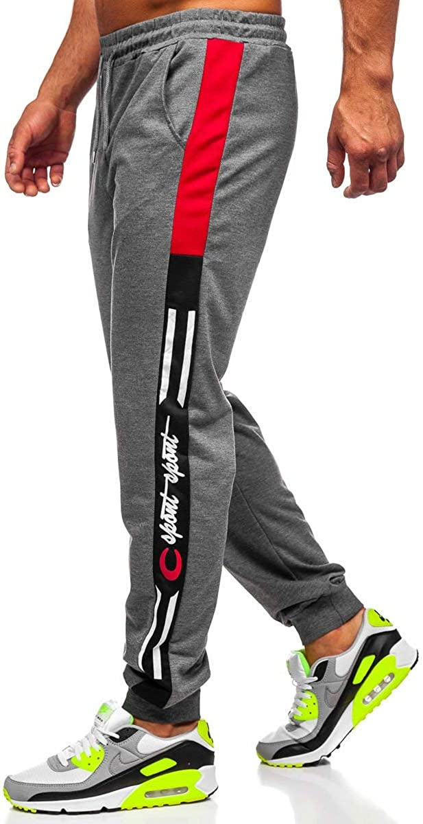 BOLF Homme Mix 6F6 Pantalon de Sport Long Sportif