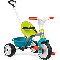 Smoby - Be Move Triciclo de Metal, Azul, 740326
