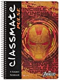 Classmate Pulse Single Line 5-Subject Notebook - 297mm x 210mm, 60GSM, 250 Pages